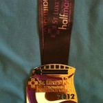 The Woodlands Half Marathon Medal - 2012