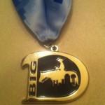 Big D Half Marathon Medal - 2012 - Samantha