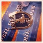 Big D Half Marathon Medal - 2012 - Teal