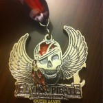 Flying Pirate Half Marathon Medal BLING - 2012