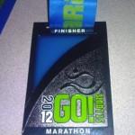 Go! St. Louis Marathon Medal - 2012 (Holt)