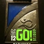 Go! St Louis Marathon Medal - 2012 (Washam)