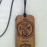 Oak Barrel Half Marathon Medal - 2012 - Kalifeh