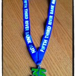 Fifth Third River Bank Run Medal (2012) - Lisa Edwards