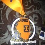 Illinois Marathon Medal Ribbon - 2012