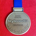 Nykredit Copenhagen Marathon Medal - 2012 - Back