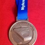 Nykredit Copenhagen Marathon Medal - 2012 - Front