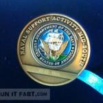 Navy 10 Nautical Miler Age Group Winner Medallion