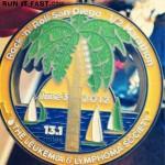 Rock 'n' Roll San Diego Half Marathon Medal - 2012 - Jenna Green