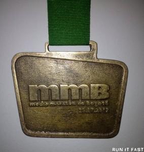 Bogota Half Marathon Medal 2012