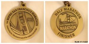 San Francisco Half Marathon and First Half (2012)