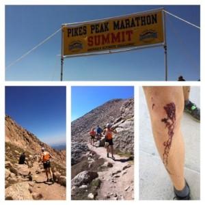 Brad Box 2012 Pikes Peak Marathon