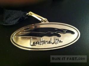 Lean Horse Ultramarathon Medal - 2012 Run It Fast