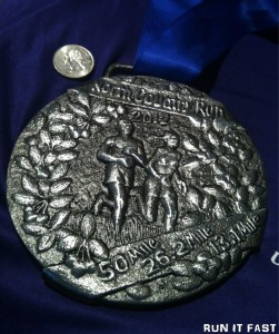 North Country Run Medal 2012