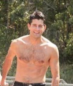 Paul Ryan Shirtless in Swimsuit - Marathon Claim