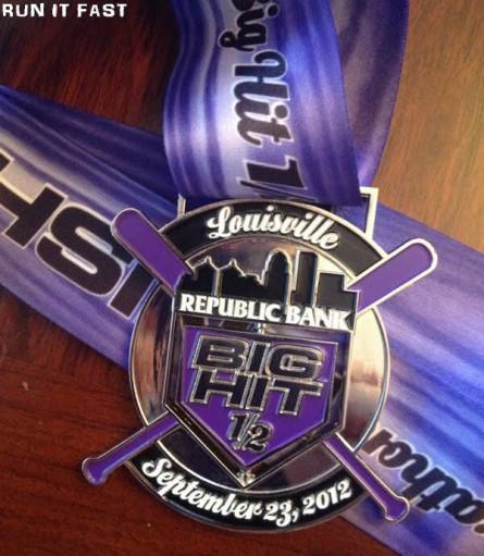 Big Hit Half Marathon Medal (2012) 2