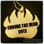 Endure the Bear 50K Medal (2012) - Run It Fast