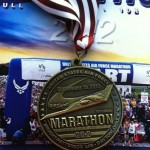 United States Air Force Marathon Medal - 2012 - Larry Keister