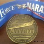 United States Air Force Medal - 2012 - Matt Henry - Run It Fast