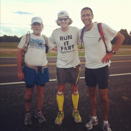 VS500K - Mile 100 of Vol State 500K - Daniel Fox, Joshua Holmes, Jay Dobrowski