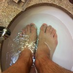 VS500K RR - Foot Soak at the Hotel - Vol State 500K