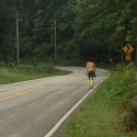 VS500K-RR - Joshua Holmes Heading up Monteagle. Mile 271 of the Vol State 500K