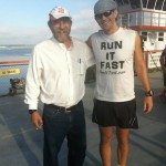 VS500K RR - Joshua Holmes and Gary Cantrell Before the Start of the 2012 Vol State 500K