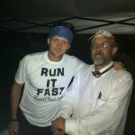 VS500K RR - Joshua Holmes with Lazarus Lake After Finishing 2nd in the 2012 Vol State 500K