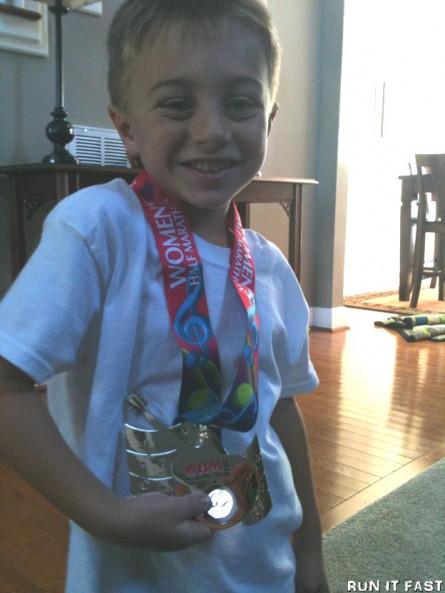 Womens Half Marathon Medal 2012) 2