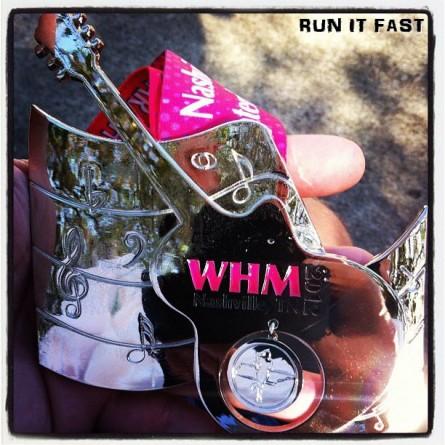 Womens Half Marathon Medal (2012) 3