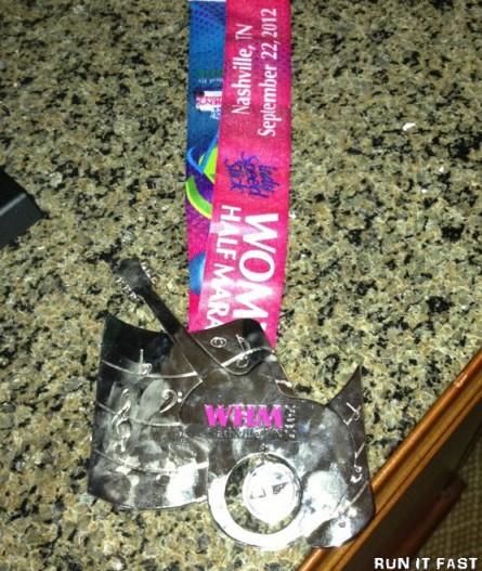 Womens Half Marathon Medal (2012)