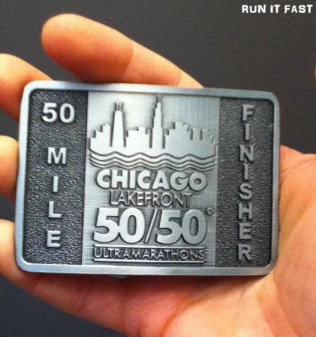 Chicago Lakefront 50M Medal 2012