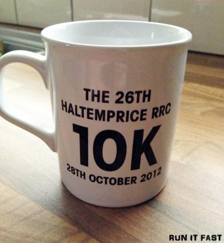 Haltemprice 10K Medal 2012