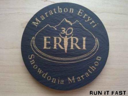 Snowdonia Marathon Medal 2012