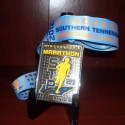 Southern Tennesee Plunge Marathon Medal - 2012 - Run It Fast
