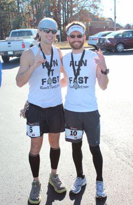 Joshua Holmes and Jonathan Harrison - 1st and 2nd Place Black Diamond 40 Finishers - Run It Fast