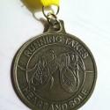Mid-South Half Marathon Medal - 2012 - Run It Fast - Front