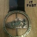 BCS Half Marathon Medal Close Up- 2012 - Run It Fast