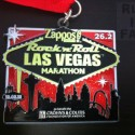 Rock n Roll Las Vegas Marathon Medal - 2012 - Run It Fast
