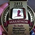 St Jude Memphis Marathon - 2012 - Run It Fast