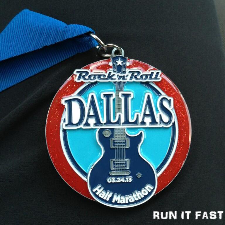 Rock 'n' Roll Dallas Half Marathon Results - Run Infinity