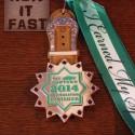 Cowtown Half Marathon Medal - 2014 - Run It Fast