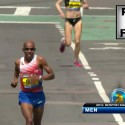 Meb Keflezighi Home Stretch 2014 Boston Marathon Winner - Run It Fast