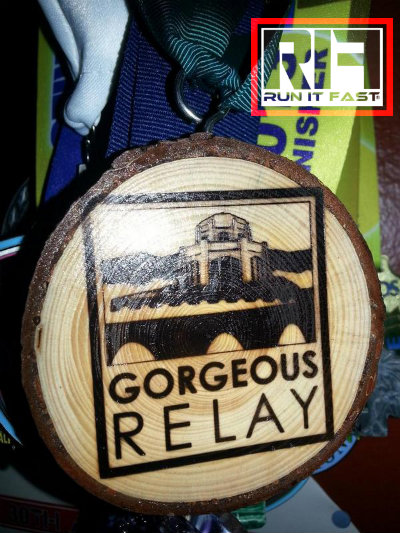 Gorgeous Relay Medal 2014 - Run It Fast