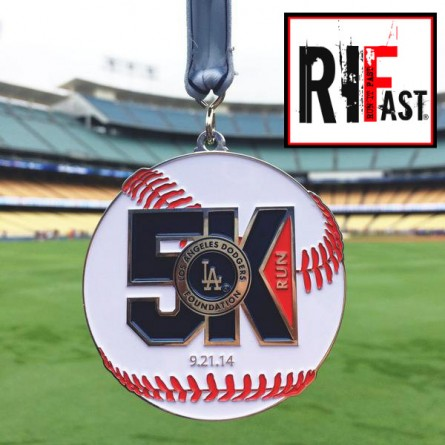 Los Angeles Dodgers 5K 2014 - Run It Fast