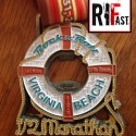 Rock n Roll Virginia Beach Half Marthon Medal - 2014 - Run It Fast
