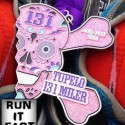 Tupelo Half Marathon Medal - 2014 - Run It Fast