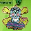 Tupelo Marathon Medal - 2014 - Run It Fast