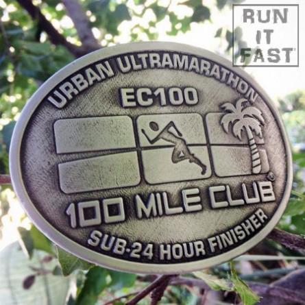 100 Mile Club EC 100 Buckle 2014 Joshua Holmes - Run It Fast