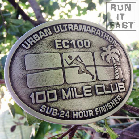 100 Mile Club EC 100 Buckle 2014 Joshua Holmes - Run It Fast